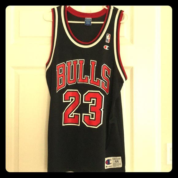 781e2b53fcedb Champion Shirts | Authentic Vintage Michael Jordan Jersey | Poshmark